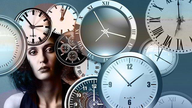 hodiny a hlava