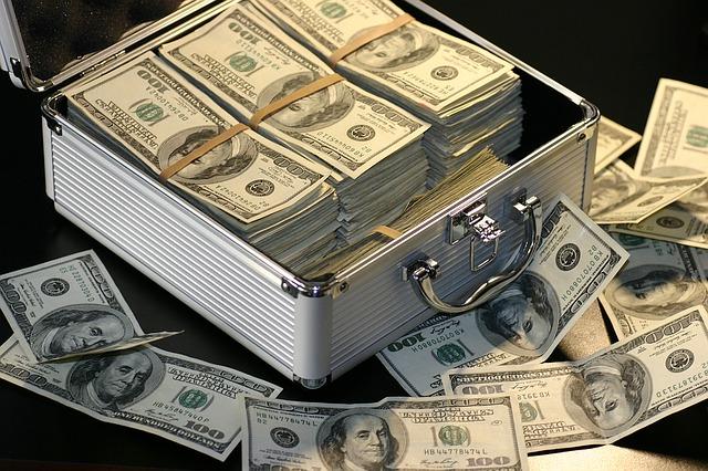 kufr na dolary