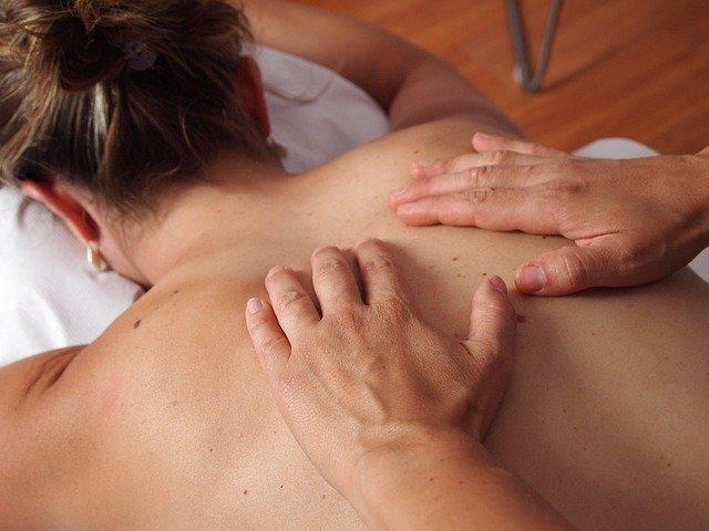 kvalitní masáž